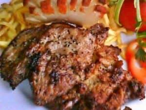 Sertéshús ételek (körettel együtt)